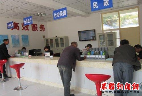 桃镇镇启动便民服务中心